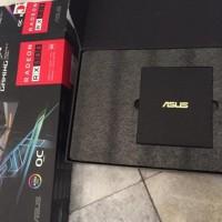 VGA ASUS ROG STRIX RX 580 OC 8GB. GPU RX580 Graphic Card