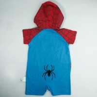 Romper Baby Bodysuit Hero Dengan Motif (Spiderman) / Baju Bayi & Anak