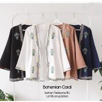 Cardi Bohemian Fashion Wanita Baju Luaran Cardigan Outwear