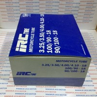 Ban Dalam Motor IRC 325/350/400/410-18 atau 100/90-18 atau 110/90-18