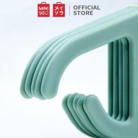 Miniso Official 5 PCS Simple multipurpose clothes hanger, Hanger Baju