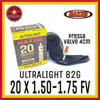 MAXXIS ULTRALIGHT 20 X 1.50/1.75 FV Ban Dalam Sepeda