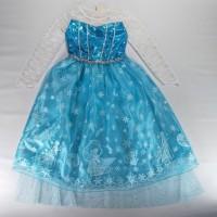 Dress Import Kualitas Bagus Buat Imlek Natal Ulang Tahun Dress Frozen