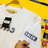 T-Shirt 07:35 putih Smitty Premium Distro (Combed24s L & XL)