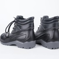 Sepatu Safety AP MAX By AP Boots Low Safety Boot Sepatu Pria-Hitam, 41