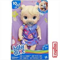 BABY ALIVE Lil Sounds Blonde Boneka Hasbro E3690 Sound