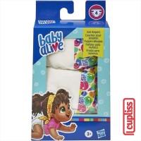 BABY ALIVE Diapers Doll Nappy Refill 4 pcs Hasbro E9119