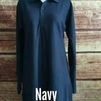 Hot Produk Jumbo Xxxl Baju Kaos Krah Tunik Muslimah Polo Lacoste