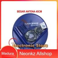 Paket Antena Parabola Mini Ninmedia LNB + Kabel [non receiver] Gratis