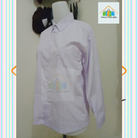baju sekolah putih polos lengan panjang SD SMP SMA,seragam sekolah