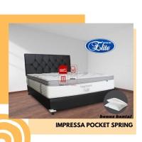 Springbed Elite Impressa Pocket 180x200 cm Fullset