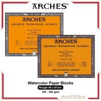 Kertas Cat Air Arches Rough 46x61cm Watercolor Paper Blocks
