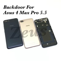 Backdoor Tutupan Baterai Back Casing Asus Zenfone 4 Max Pro 5.5inch ZC - RoseGold