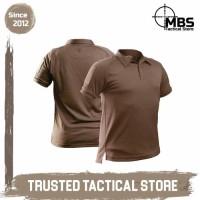 Tactical Polo Molay Advance Striker Polo Shirt MKII Kaos Polo - Coyote Tan, S