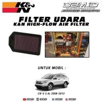 Filter Udara K&N Honda CRV 2008-2012 2.4L kode 33 2377