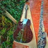 Samick Greg Bennett Asdr All Solid Fishman Gitar Akustik Elektrik Cort