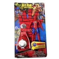 Yobeli Sarung Tangan Iron Man - Spiderman - Captain America - Koleksi