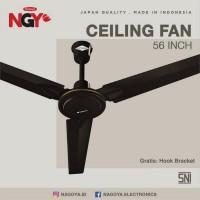 "Kipas Angin Plafon NAGOYA (Ceiling Fan) 56"" - Baling Besi - NG56CF"