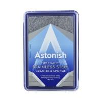 Astonish 250 Gr Premium Krim Pembersih Stainles Steel Dengan Spons
