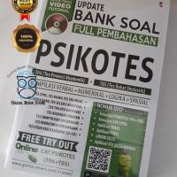 Buku UPDATE BANK SOAL FULL PEMBAHASAN PSIKOTES (TPA+TBS)