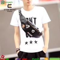 Jual Tas Selempang / Slempang Kulit Pria Waist Bag import 227