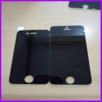 Tempered Spy Iphone 4/4s/6+/6s+ Se Hitam Kaca Original Anti Tempered
