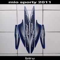 sticker striping body lis motor mio sporty 2011 biru