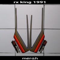 sticker striping body lis motor rx king 1991 hitam-merah