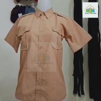 baju pramuka pendek cowo SD SMP SMA Seragam sekolah - 6 7 8