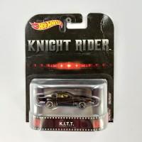 Hot Wheels Retro KITT Knight Rider Ban Karet CARD KERUT ANGGAP LOSSE