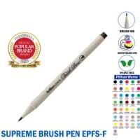 Artline Brushpen Supreme Fine SATUAN PART 2 - Brush pen