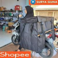 PROMO TAS KURIR MOTOR TAS OBROK KANVAS TINGKAT SUPER JUMBO TERMURAH