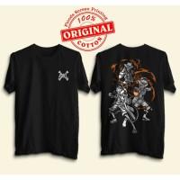 T-Shirt Baju Kaos One Piece Ace Sabo Luffy