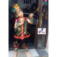 Daerah Dayak Anak Wanita PAUD/TK   Baju Adat Karnaval Kostum Tari