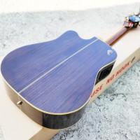 Gitar Akustik Elektrik Original Samick Gregbennet Asdr Ce All Solid
