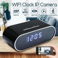 Kamera Spy Wifi Jam HD 720P Night Vision Motion Detection Mobile Cam