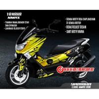 Decal Sticker Motor Yamaha Nmax Modifikasi Variasi Aksesoris Full Body