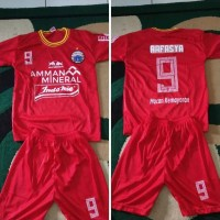 Promo Setelan Jersey baju kaos bola anak anak kids Persija Jakarta