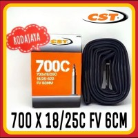 Ban Dalam Sepeda CST 700 x 18/25C FV 60mm