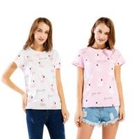 CentCentStore T-shirt / Kaos Wanita FLAMINGGO Full Print
