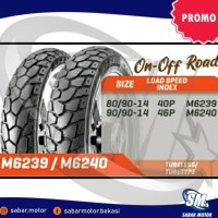Paket Ban Motor Matic 80/90-14 + 90/90-14 Maxxis Kembang Tahu
