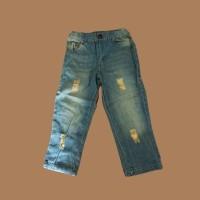 Setelan Baju Jeans Anak Perempuan Litte Holland Army (ZH-DGP014) - SZ
