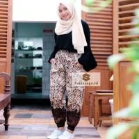 NEW Celana Jogger Batik Wanita & Pria Unisex Original by Batik Saga
