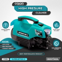 Mesin Cuci Jet Mobil Motor High Pressure Cleaner Orion Superjet100-S