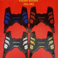 karpet bordes mio m3/mio z/soul gt blue core - Kuning