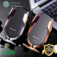 PROMO Wireless Car Charger Holder Charger With Automatic Sensor Ori !!