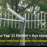 antena gsm YAGI super gain 3g 4g + kabel 15m