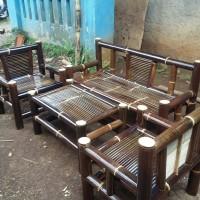 bangku/kursi bambu