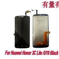 LCD TOUCHSCREEN HUAWEI HONOR 3C LITE - U19 - BLACK - LCD TS HUAWEI