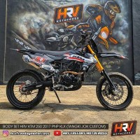 Big Sale Body Set Hrv Ktm 250 2017 Pnp Klx - Tangki Jok Custom -